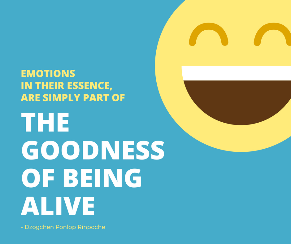 quote_Emotions in their essence are simply part of the goodness of being alive.