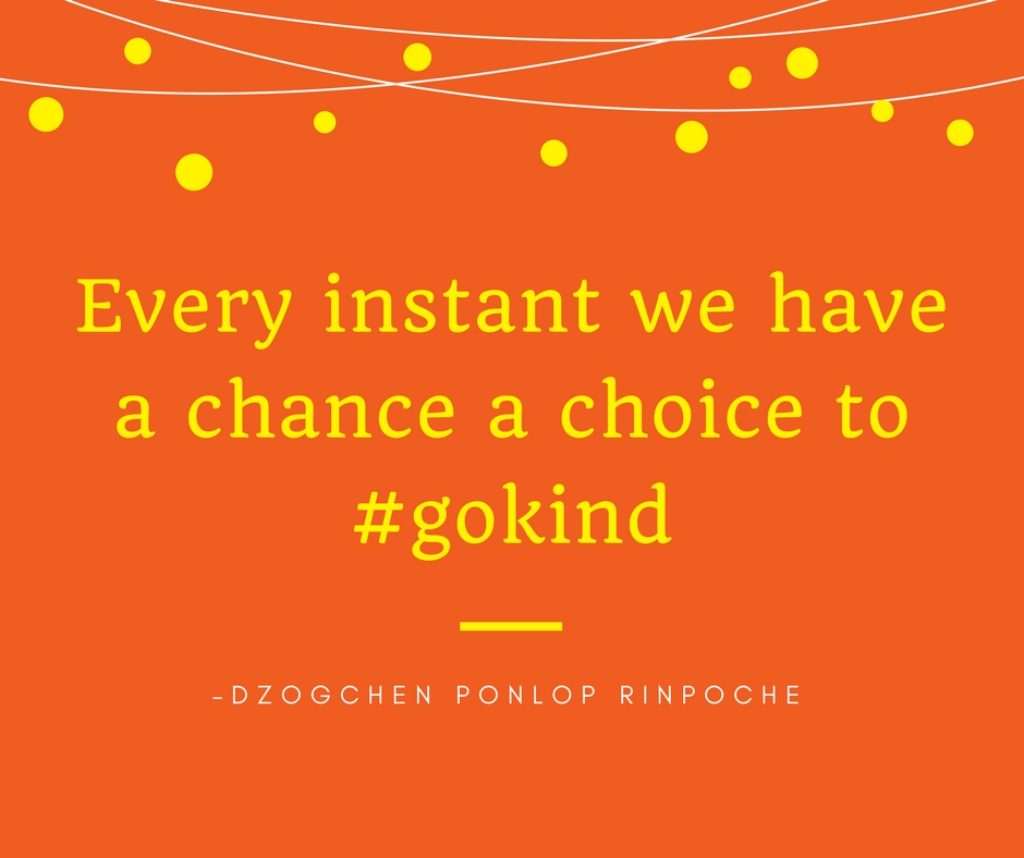 quote_Every instant we have a chance, a choice to #gokind.