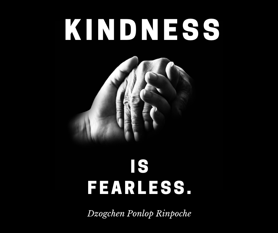 kindness is fearless