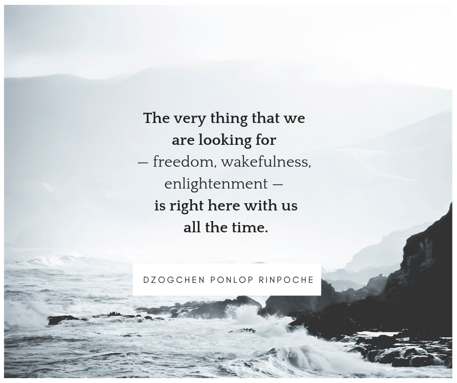 quote_enlightenment is with us all the time