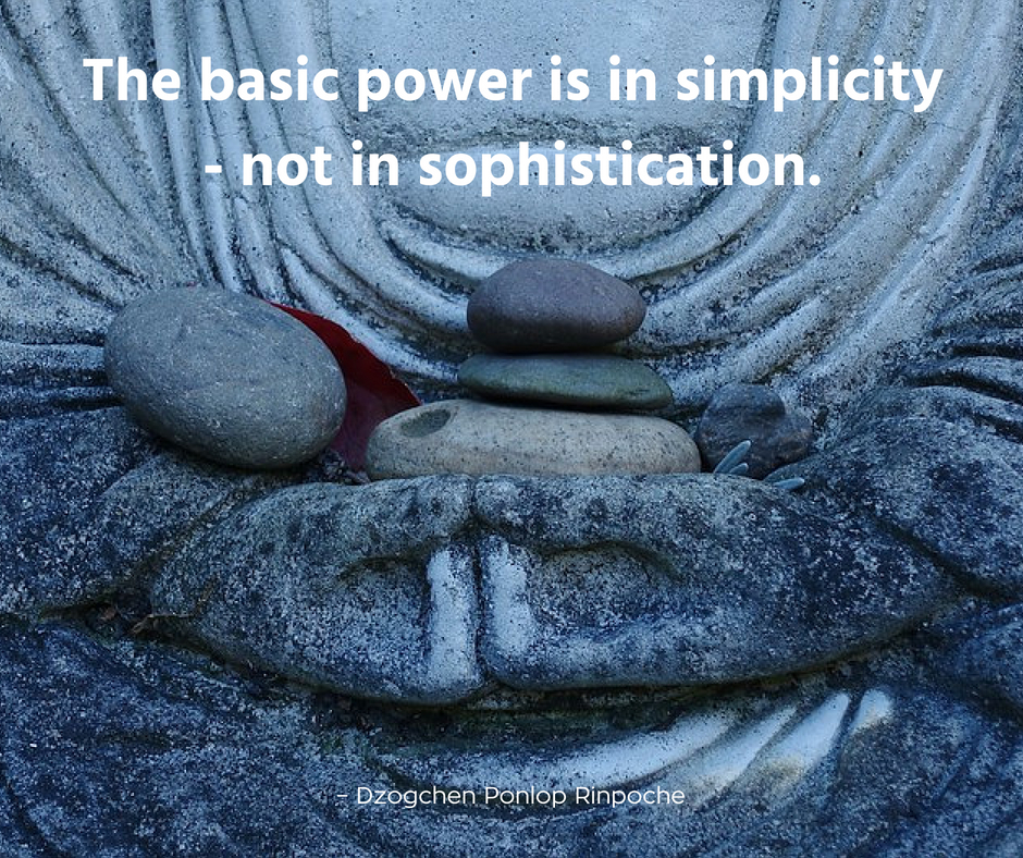 quote_the basic power is in simplicity, not in sophistication.